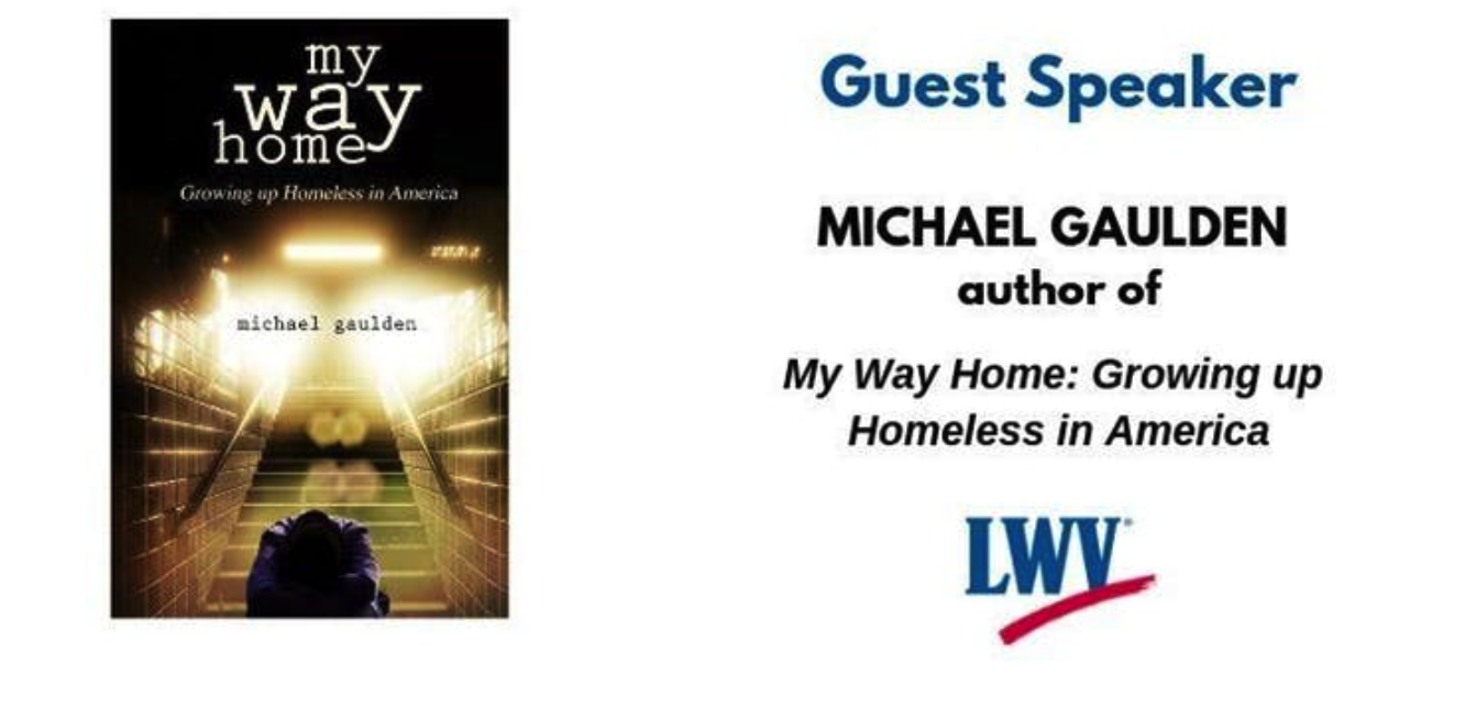 """A graphic depicting the book titled """"my way home"""""""