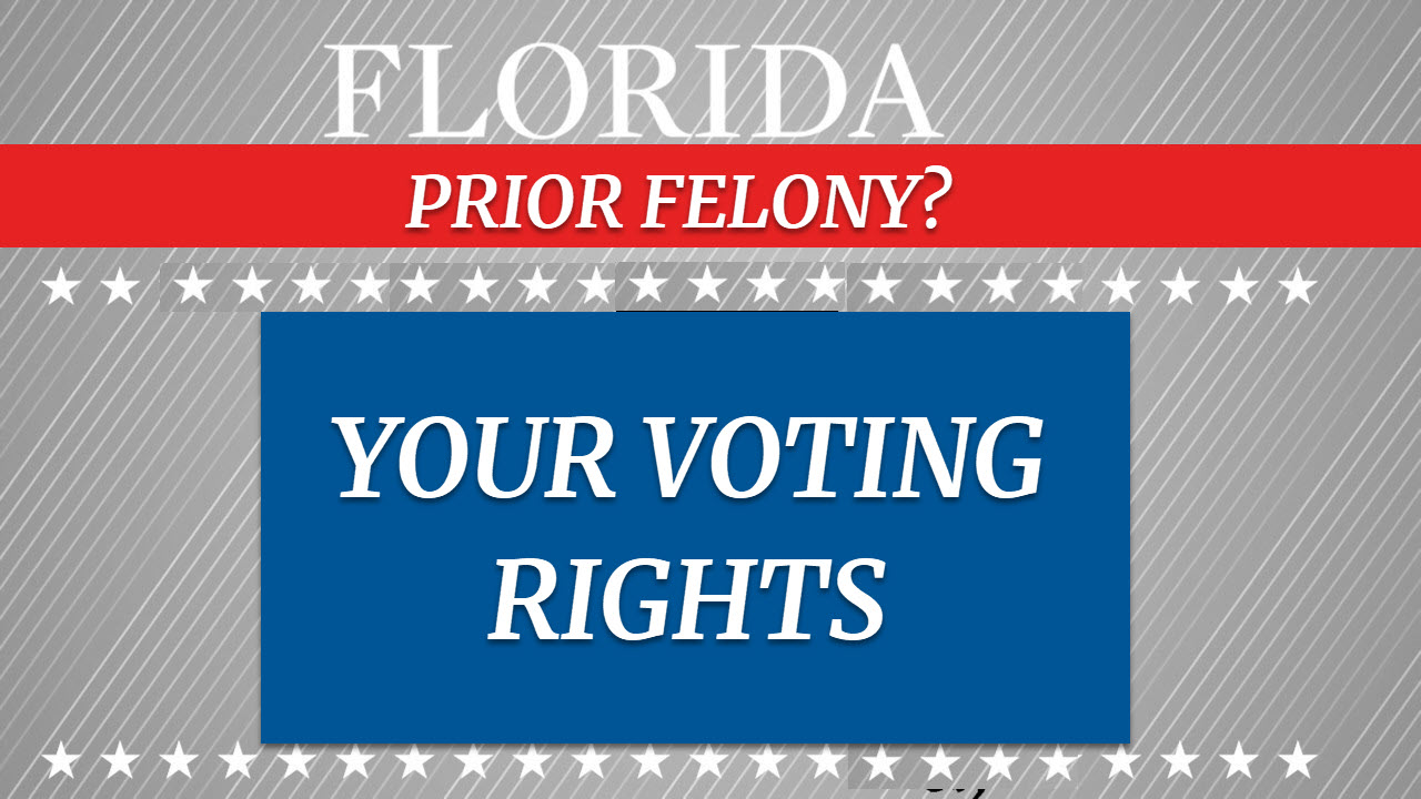 Voting Rights for FL Citizens with Felony Convictions