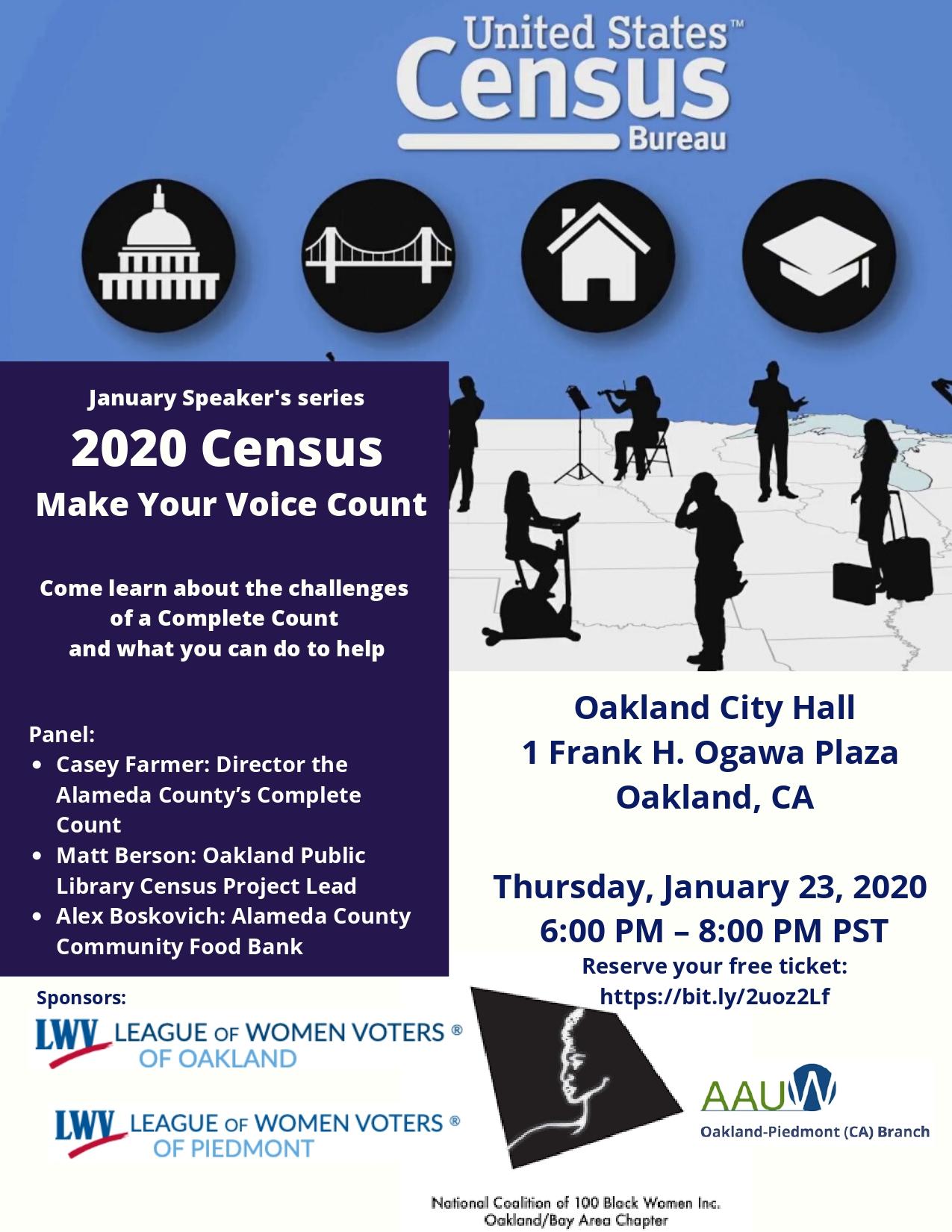 Census2020 Speaker Series