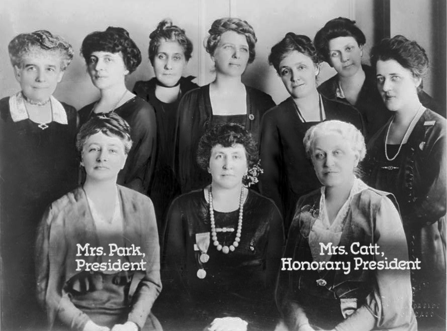 Photo of the First LWV Board of Directors