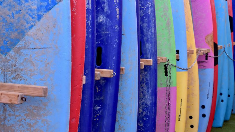 Photo of surfboards