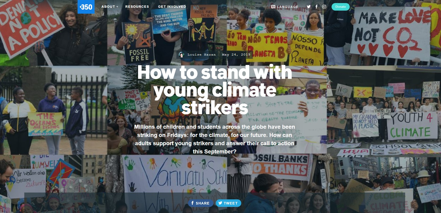 Climate Change Youth Strikes