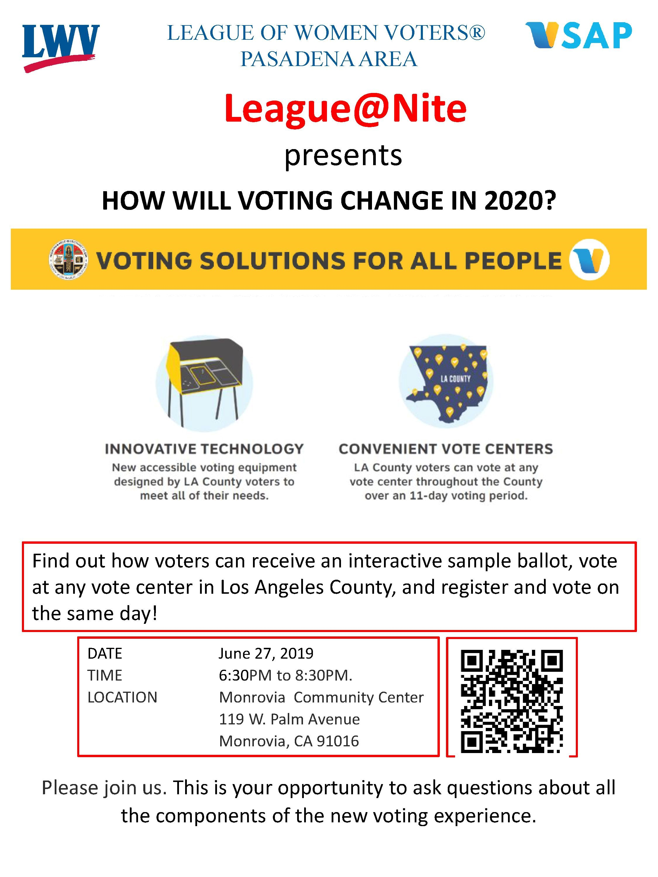 How will Voting Change in 2020?