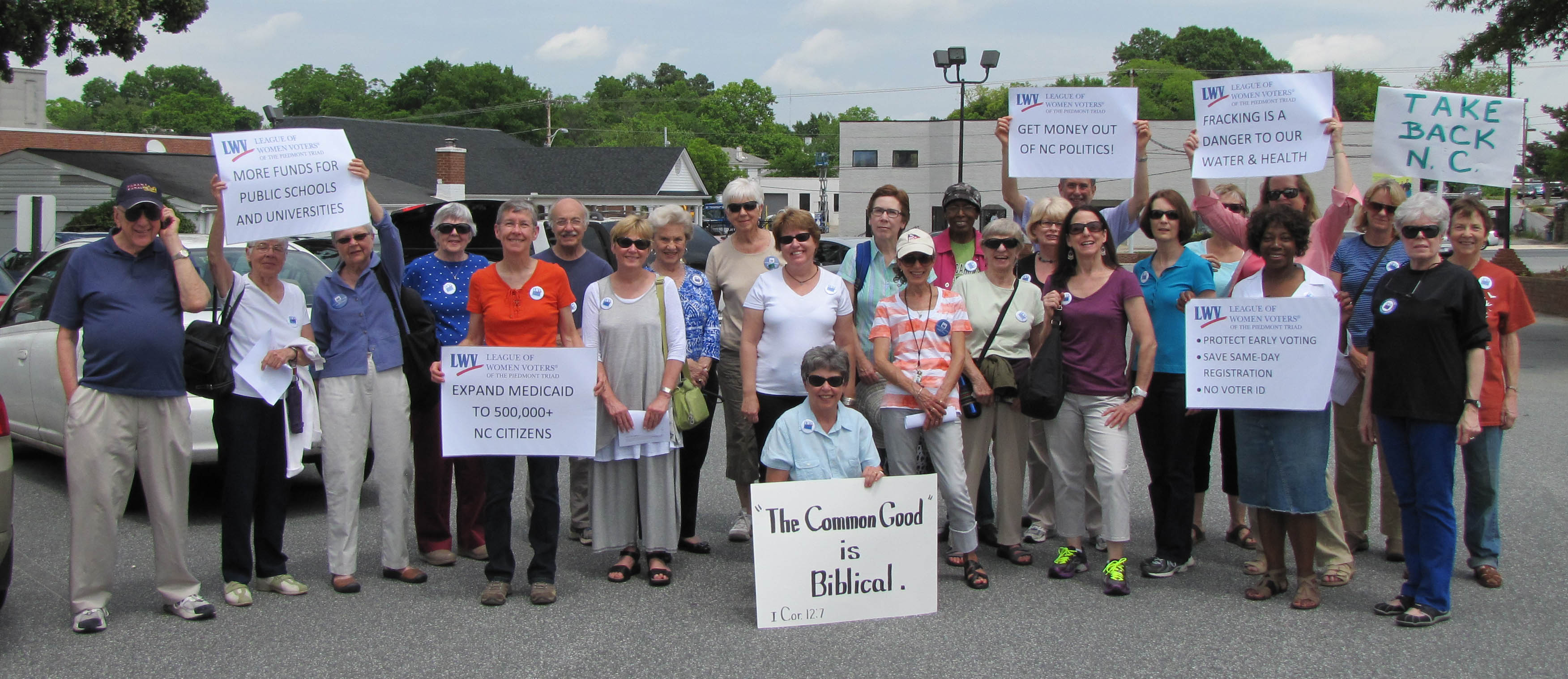 LWVPT to Raleigh to lobby General Assembly.