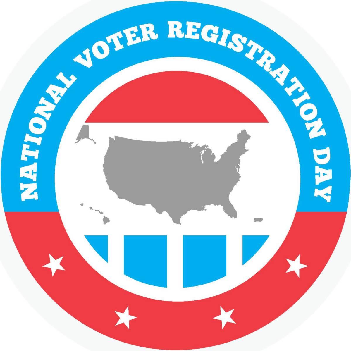 National Voter Reg Day