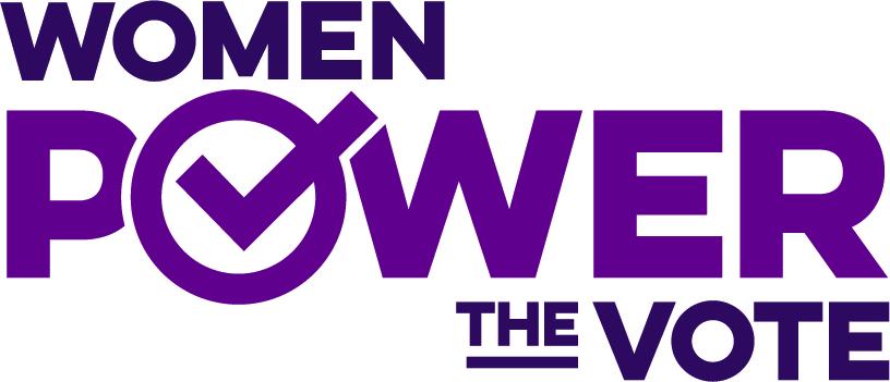 Women Power the Vote logo