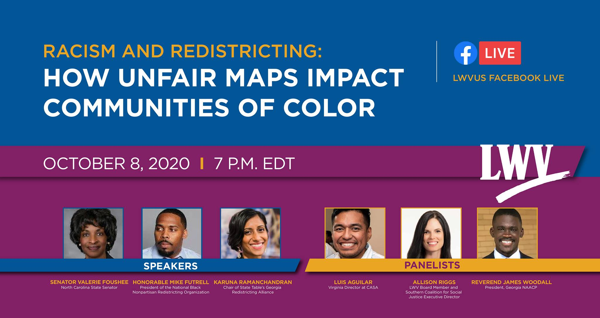 Racism and Redistricting event