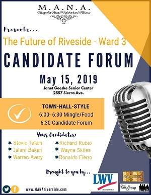 2019 Ward 3 Forum