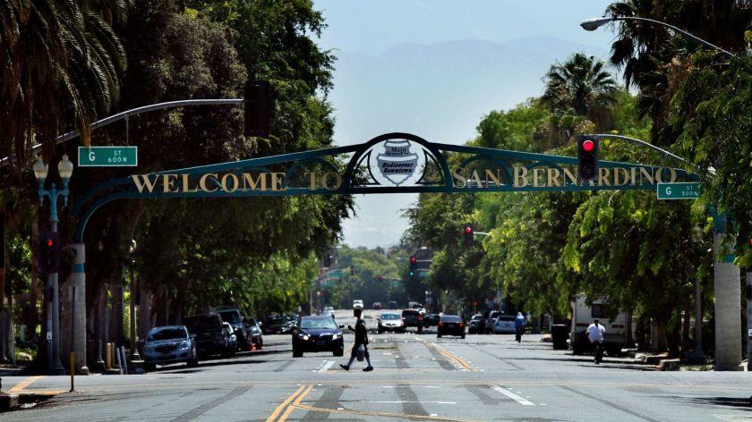San Bernardino Entery
