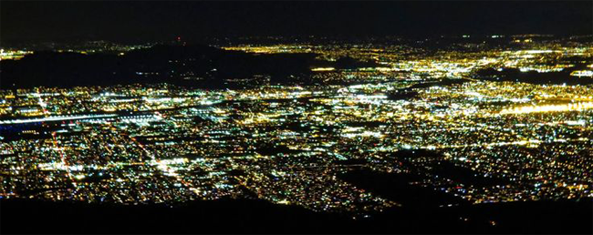 San Bernardino Valley at Night