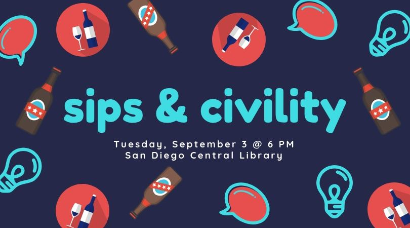 September 2019 sips and civility