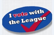 I VOTE with the League!