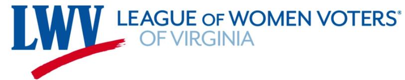 LWV-Virginia logo