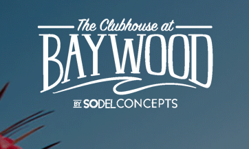 logo for the Clubhouse at Baywood