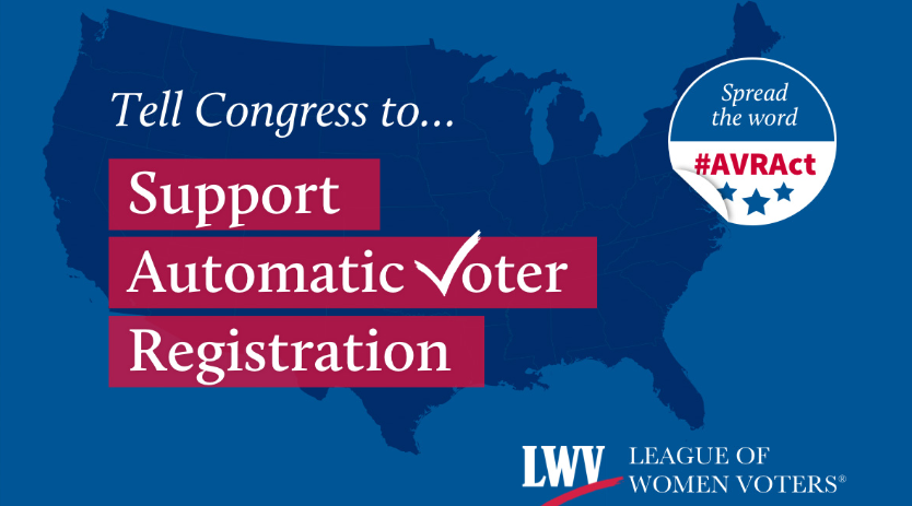 Tell Congress to Support Automatic Voter Registration image