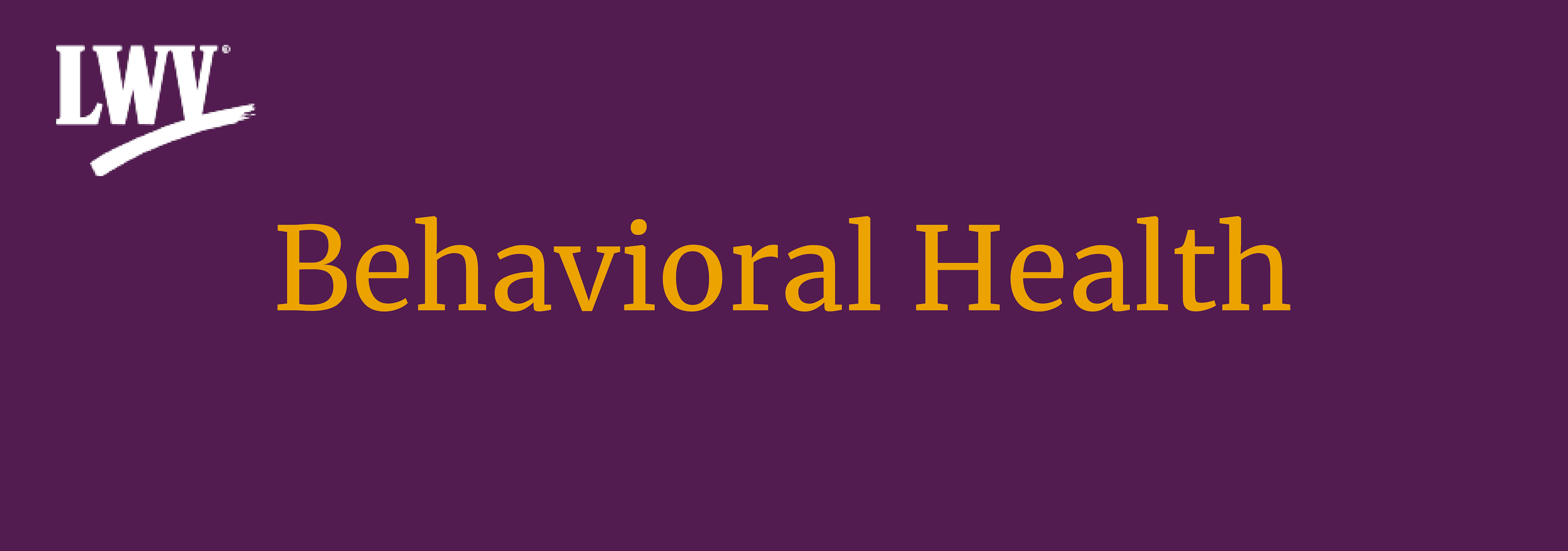 Behavioral Health graphic