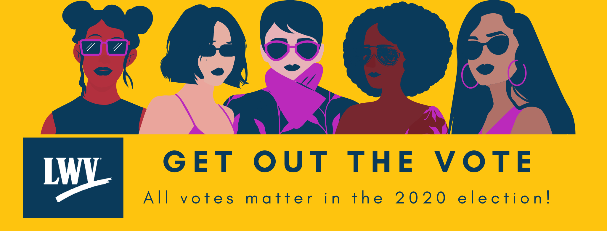Get Out the Vote: All votes matter in the 2020 elections