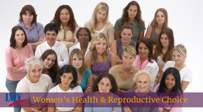 Women in a group