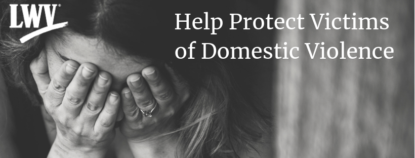 Woman crying. Help victims of domestic abuse