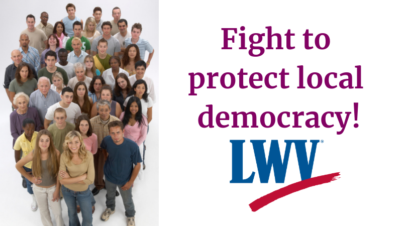 Workers Fight to protect local democracy
