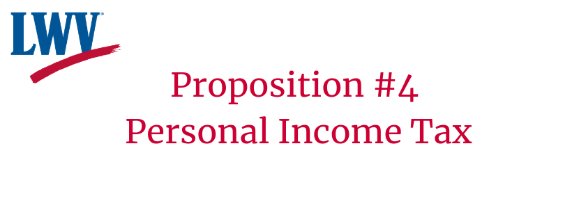 Prop. #4 Personal Income Tax