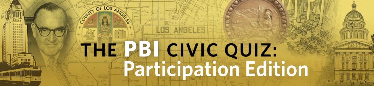 PBIPA Quiz: Participation Edition