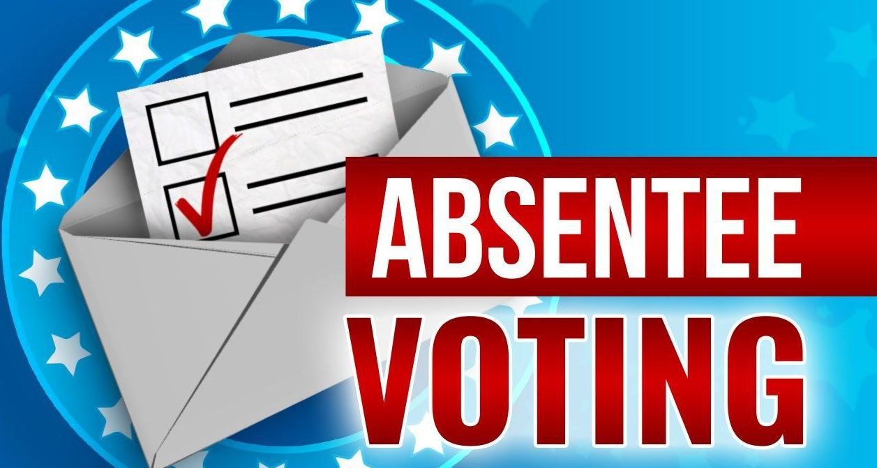 Absentee Voting Text and Ballot