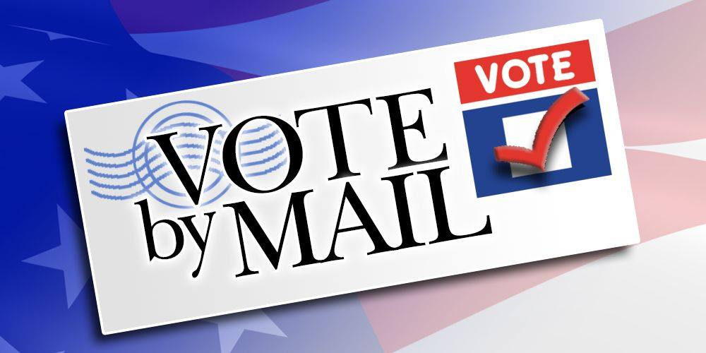 Ballot with Vote by Mail Text