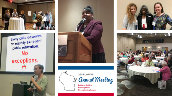 2018 LWV WI Annual Meeting