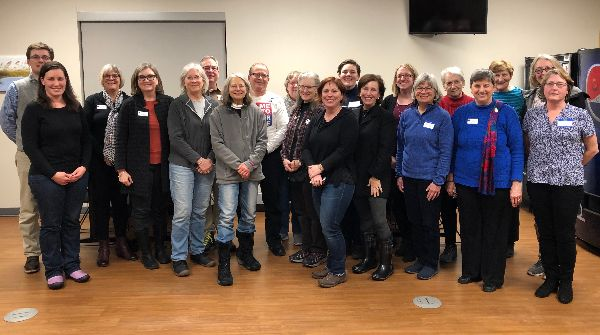 Group of League of Women Voters volunteers from Sheboygan County