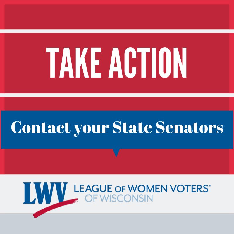 Take Action Contact State Senators