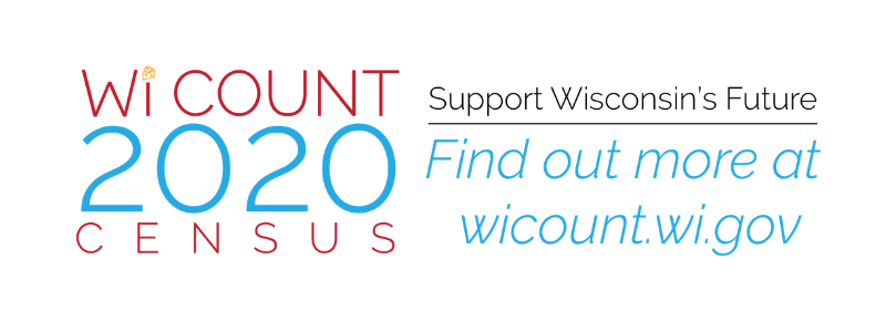WiCount 2020 Census Support Wisconsin's Future