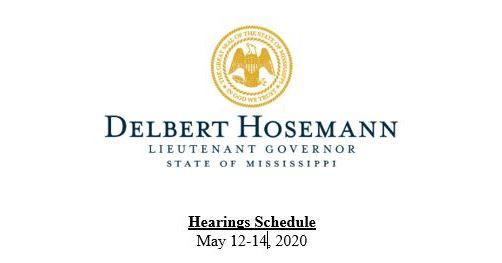 Mississippi lt. governer letterhead