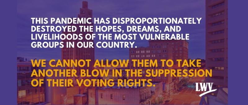 voter suppression lawsuit 2020