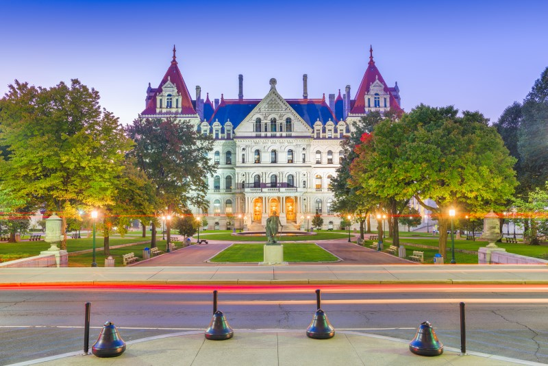 Albany the capital of New York State