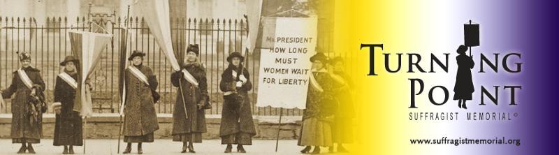 Turning Point Suffrage Memorial Header
