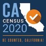 CA Census 2020 logo