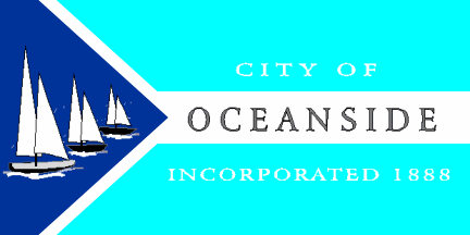 Flag of the City of Oceanside, CA