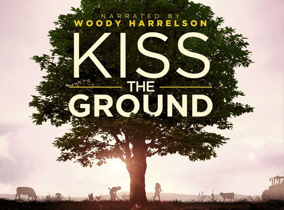 image of Kiss the Ground movie title slide