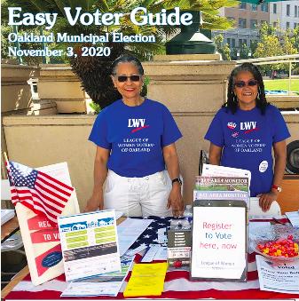 Oakland Easy Voter Guide November 2020