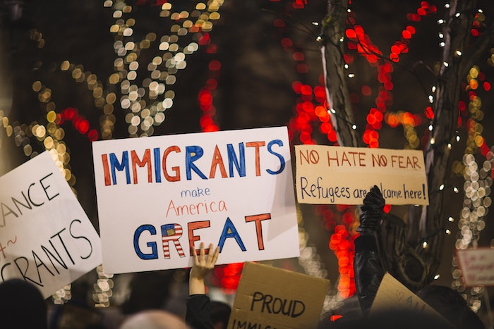 Immigrants Make America Great by Nitish Meena from Unsplash.com