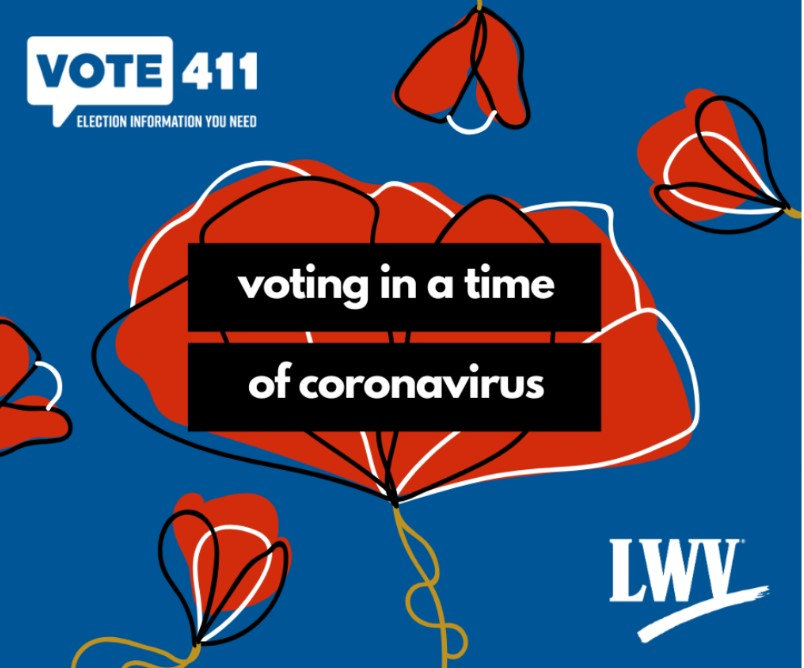 Voting in time of Coronavirus Image