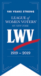 LWV Centennial Logo 100 Years Strong