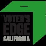 Logo for Voter's Edge website