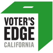 Logo for Voter's Edge website
