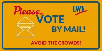 Please vote by mail