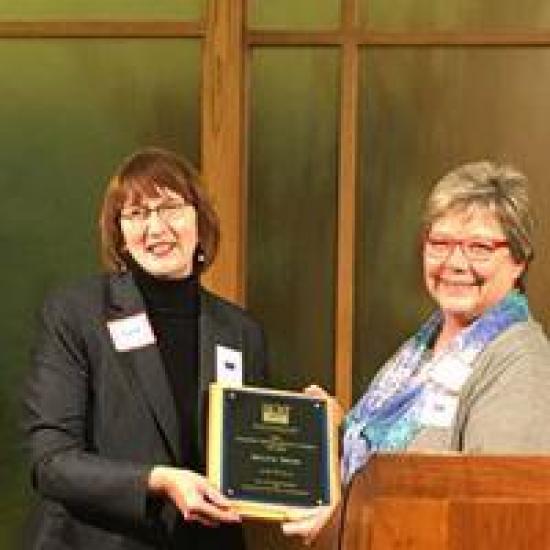 Diana Hess 2016 Making Democracy Work Award Winner