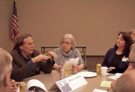 Sen Jim Abeler with Constituents