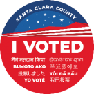 I Voted - Santa Clara County
