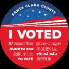 I Voted - Santa Clara County